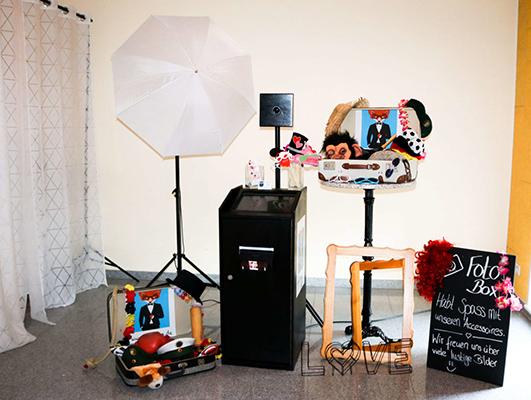 selfiefox fotobox accessoires box schirm 1