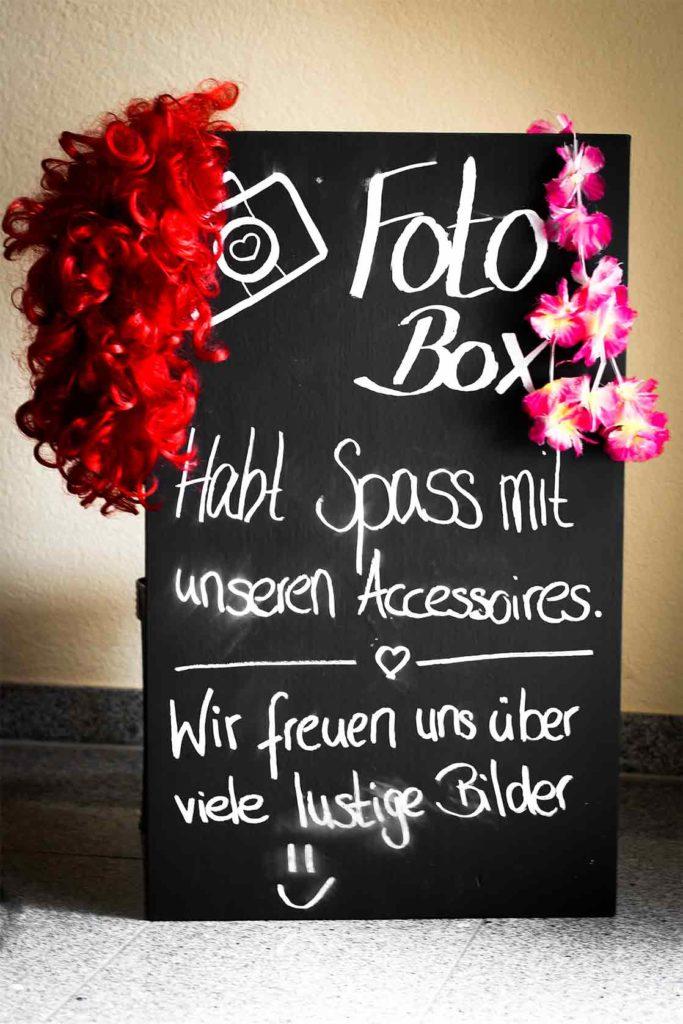 selfiefox fotobox mieten tafel